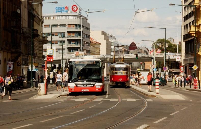 Provoz BUS po tramvajovém tělese