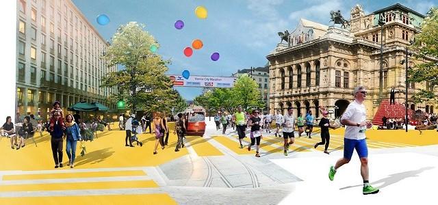 Ringstrasse – a world class street s veřejnou dopravou